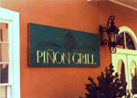 Pinion Grill at the Santa Fe Hilton by Dennis Knicely, Design and Sign Artist
